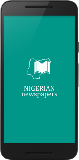 Nigerian Newspaper app screen shot